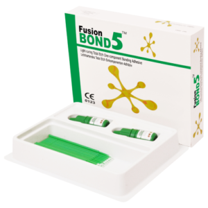 Fusion Bond 5   Light Curing Total Etch One Component Bonding Adhesive